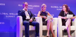 conferenza global wellness summit con Nerio Alessandri